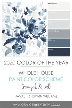 2020 Colour of the Year! + The Best Paint Finishes for Your Home 2020 Colour of the Year! + The Best Paint Finishes for Your Home – Orangetree Interiors Interior Paint Colors, Paint Colors For Home, Paints For Home, Interior Painting Ideas, Interior Colour Schemes, Magnolia Paint Colors, Paint Colours For Bedrooms, Living Room Paint Colors, Home Painting Ideas