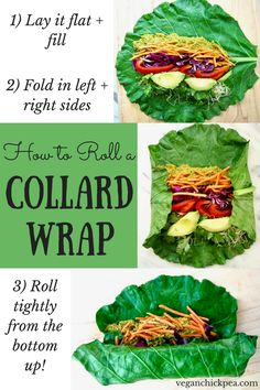 This Raw Rainbow Collard Green Wraps with Curry Sunflower Seeds recipe is a super healthy, crunchy lunch you can make ahead that will leave you feeling fresh & energized. It's customizable with whatever veggies you want, low carb and friendly for all diet