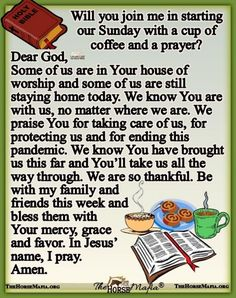 Sunday Morning Prayer, Morning Prayers, Blessed Sunday Quotes, Evening Greetings, Special Prayers, Daily Prayer, Dear God, Heavenly Father, Worship