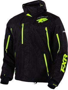 FXR MISSION X JACKET (2015)  http://www.upnorthsports.com/snowmobile/snowmobile-clothing/snowmobile-jackets/mens-jackets/fxr-mission-x-jacket-2015.html