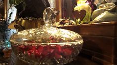 Update~Thrift Shoppe Candy Dish Repurposed~Out of The Ordinary~Milady Leela