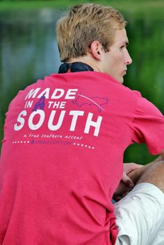 "southerngentgifts:  NEW! High Cotton Ties ""Made in the South"" Tee  I think I am going to order this one soon! Love the color. Love the wording.  Let's do this.  Contact any of these fine retailers to see if they have them!  Keep it Classy, Keep it Southern,  cHc"