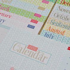 2015 Calendar by Hol