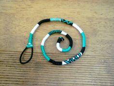 Atebas amovible verte noire et blanche - 40cm Tresse indienne : Accessoires coiffure par stonanka