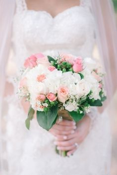 Pink Barn Wedding by Julie Paisley on Southern Weddings— Loverly Weddings