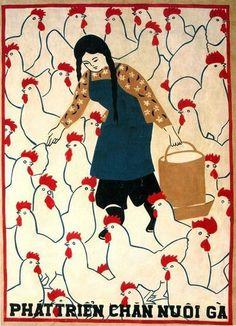 goodmemory:  Vietnam poster. Unknown artist via