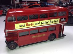 London Double Decker Bus England RED Solido Diecast 1/50 scale metal model vintage antique travel wedding limo limousine birthday Tea Party