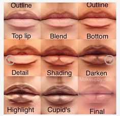 Such a great step-by-step explanation of how to overdraw your lips!