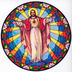 Risen Christ Suncatcher