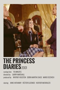 wallpaper Alternative Minimalist Movie/Show Polaroid Poster - The Princess Diaries Iconic Movie Posters, Minimal Movie Posters, Minimal Poster, Iconic Movies, Disney Movie Posters, The Princess Diaries, Poster Minimalista, Mode Poster, Film Poster Design