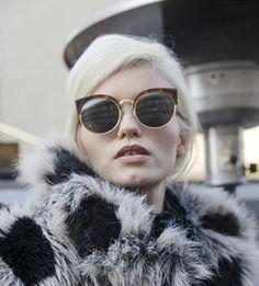 New 2014 Super Retro Glasses Half Metal Rim Vintage Women Sunglasses Cateyes Designer Eyeglasses For Girls oculos de sol-in Sunglasses from ...