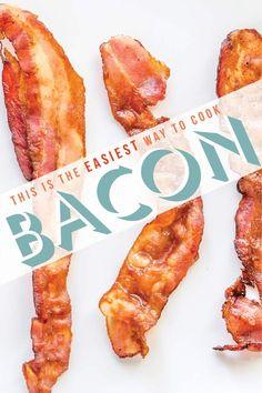 Consult for maximum bacon efficiency.