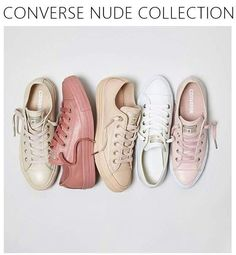 Converse Nude Collection. Want!