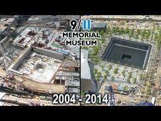 Within days after the national tragedy, EarthCam installed a camera to webcast the rescue and recovery efforts at Ground Zero. Now, after 4,617 and counting, we have this incredible footage to view the transformation. | This Time Lapse Of The 9/11 Memorial Being Built Over A 10 Year Period Is Pretty Amazing