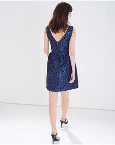 Blue Helen Dress