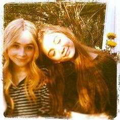 Rowan Blanchard And Sabrina Carpenter Had A Photo Shoot With Aritzia November 2, 2013