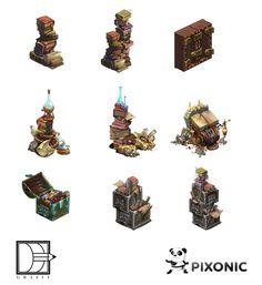 Dwarves' Tale by Grafit , via Behance