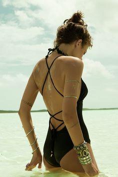 //So Solid Madison One-Piece #eberjey #swimwear