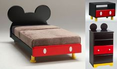 This would be cute for a little boys room- Minnie would be perfect for a little girl!