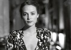 An exclusive interview with The Man from U.N.C.L.E.'s leading lady, Alicia Vikander, courtesy of @garancedore. | The Man from U.N.C.L.E.