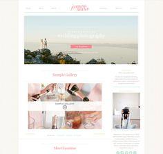 Jasmine ProPhoto Blogsite by Seaside Creative  #prophoto #seasidecreative