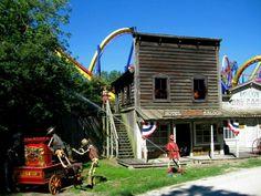Ghostown, Cedar Point Cedar Point Ohio, Vermilion Ohio, Marblehead Ohio, Cool Places To Visit, Places To Go, Sandusky Ohio, Fair Rides, Amusement Park Rides, Toledo Ohio