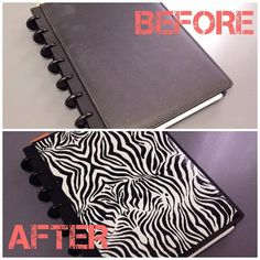DIY Stationery: Ridiculously Easy Notebook Cover DIY