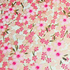 Japanese Chiyogami Yuzen Paper  5 x 4.25 by craftpapersource, $0.85