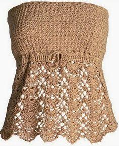Hobby lavori femminili - ricamo - uncinetto - maglia: top (1 di 3)