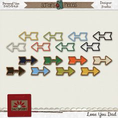 JMC Designs - Digital Scrapbooking Kits arrows