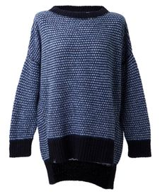 Loreak Mendian Aurresku Sweater Black Blue Ecru. Price: 89,90 €. Available at www.seriebshop.com