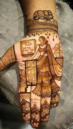 Rose Mehndi Designs, Mehndi Desing, Unique Mehndi Designs, New Bridal Mehndi Designs, Mehndi Designs For Hands, Mehendi, Decorative Items, Henna, Groom