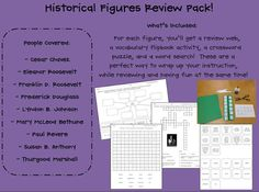 Historical Figure Review Pack MEGA-FREEBIE!