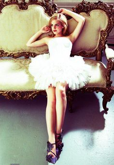 first off i love Emma Watson second this dress is cute!!!