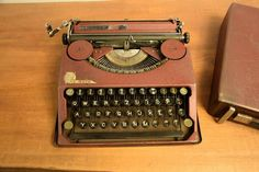 COLLECTIBLE TYPEWRITER EFKA MALA F.K. - NO RISK WITH SHIPPING #FK