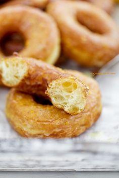 Oponki drożdżowe Cookie Pie, Doughnuts, Food Styling, Sweet Recipes, Food Photography, Brunch, Cooking Recipes, Bread, Cookies