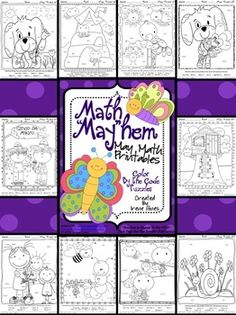 ~This Color By Number Unit Is Aligned To The CCSS. Each Page Has The Specific CCSS Listed.~ This set includes 10 math puzzles. Set also includes 10 answer keys for the 10 puzzles. Commutative Property Of Addition, Associative Property, Maths Puzzles, Math Activities, School Ot, School Stuff, School Ideas, Adding And Subtracting, Preschool Printables