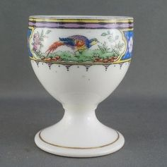 Vintage Paragon Bird of Paradise Egg Cup Old Paragon Star Mark