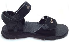 Nike Sz 7 Us Mens Black Acg Sport Strap Hiking Walking Outdoor Sandals Shoes