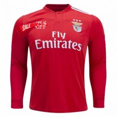 9d242c99 Benfica 18/19 Wholesale LS Home Cheap Soccer Jersey Sale [N228] Football  Tops
