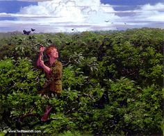 TN-Butterflies_Above_Mirkwood by Ted Nasmith