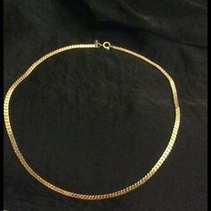 Womens or Men's Gold Chain Necklace 17 inch!  Women's or Men's Gold Chain Necklace could pull off as real AVON 17 Inch   If you have any questions feel free to ask!  Thanks for looking! Make an offer! BUNDLE 3 items in my Closet and receive 30% off at Checkout Avon Jewelry Necklaces