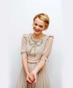 Carey Mulligan. One of my new favorites from the world of acting. Oh and just for the record...she is oh so much hotter than Megan Fox. The End.