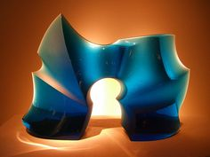 Glass sculpture by Peter Bremers