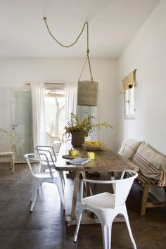 This whole house makes me want to live in Spain.  Or at least with more rattan.  via 79 Ideas.