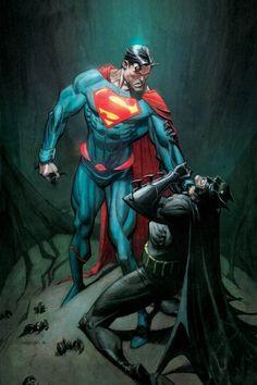 Batman and Superman - Andrew Robinson