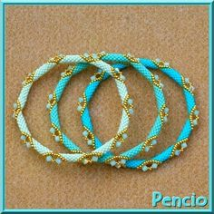 Best collection of free jewelry making tutorials, craft ideas, design inspirations, tips and tricks and trends Beaded Bracelet Patterns, Seed Bead Bracelets, Jewelry Patterns, Bracelet Designs, Bangle Bracelets, Bead Jewellery, Seed Bead Jewelry, Diy Jewelry, Tutorials