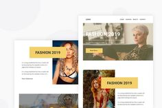 Lifestyle & Beauty Women - Email Newsletter by Ra-Themes on Envato Elements Email Templates, Newsletter Templates, Ra Themes, Email Newsletters, Website Template, Beauty Women, Lifestyle