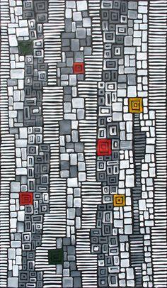 Aboriginal Artwork by Adam Reid Aboriginal Dot Painting, Aboriginal Artists, Dot Art Painting, Adam Reid, Abstract Art Images, Creative Textiles, Australian Art, Indigenous Art, Native Art