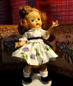 Nancy Ann's Muffie Doll from the 50s era. Rare collection.